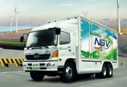 Thailand's NGV options grow with Hino's FL1J CNG truck.