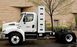 Ryder displays new Freightliner M2