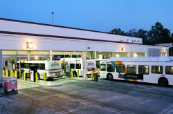 Fueling transit buses in Atlanta