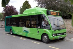 Stagecoach's dual-fuel Optare bus
