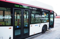 TMB's Iveco CNG bus retrofitted for hybrid operations