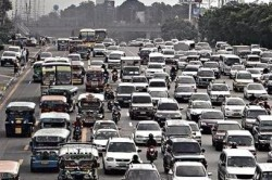 Philippines traffic congestion - emission levels are high