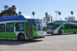 Omnitrans buses will surpass the 100 million mile mark in CNG miles traveled, April 2013