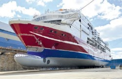 Viking Grace - the world's largest gas fuelled ferry - now in operation