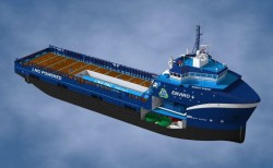Harvey Gulf Marine orders it's 6th LNG-fuelled OSV