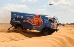Kamaz 4911 Sports Truck on Silk Way Rally Jul 2013