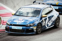 VW and Gazprom Germania at Scirocco RCup-24_CNG
