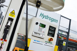 Hydrogen SmartFuel(R) dispenser
