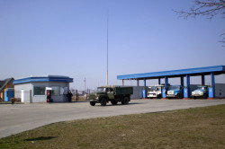 A CNG Station in Lutsk City, Ukraine