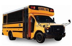 Ford E-450 6.8L Collins Type A School Bus May 2014