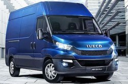 Iveco CNG-powered New Daily