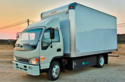 CNG-Powered Greenkraft Truck with EDI PHEV Technology