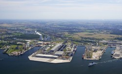 Port of Rostock, Germany