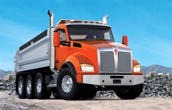 Kenworth T880 dump - LNG and CNG optioned from Aug 2014