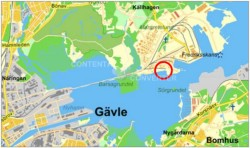 Port of Gävle - site of proposed Skangass LNG terminal