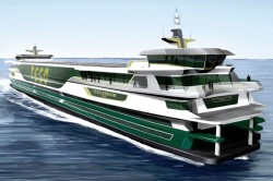 CNG Hybrid 'Texelstroom' Ferry