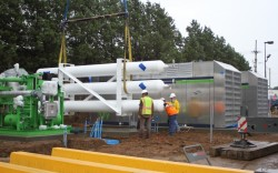 KCATA CNG fuelling station in construction