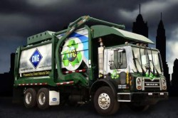 TFC natural gas powered waste collection vehicle