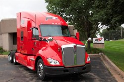 Kenworth T680 CNG - Paper Transport fleet