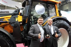 Valtra N103.4 Dual-Fuel Tractor - silver medal Moscow