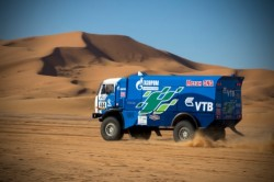 Kamaz Sports Truck on African Eco Rally 2015-2