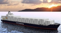 TOTE LNG-fueled Containership