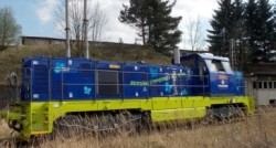 Vitkovice CNG Locomotive utilizing Omnitek technology