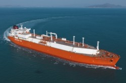 DSME-designed LNG-powered LNG Carrier