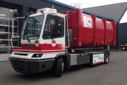 Terberg Benschop XX YT222 CNG-powered container carrier (for Omrin)