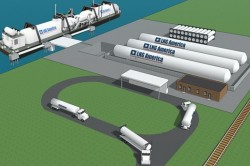 LNG America and Buffalo Marine-proposed LNG bunkering for Gulf Region