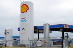 Shell LNG facility at Travel Center station March 2015