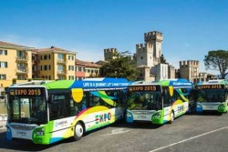 IvecoBus Urbanway metano for EXPO Milano 2015