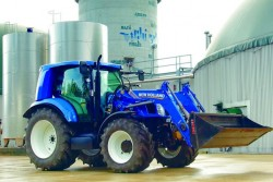 New Holland methane for agricultural applications