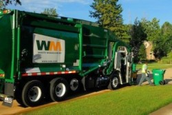 Waste Management fleet vehicle, USA