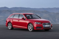 The Audi A4 Avant g-tron is the second model after the A3 Sportback g-tron that customers can run on compressed natural gas (CNG) or Audi e-gas. Its 2.0 TFSI engines has an output of 125 kW (170 hp) and torque of 270 Nm (199.1 lb-ft).  The tanks for the Avant g-tron, which will become available in late 2016, are located under the rear of the car. They can hold 19 kilograms (41.9 lb) of gas at a pressure of 200 bar and are particularly light thanks to their novel layout. The inner layer consists of a matrix of gas-proof polyamide, while a second layer of mixed carbon-fiber-reinforced plastic (CFRP) and glass-fiber-reinforced plastic (GFRP) ensures extremely high strength. The third layer made of glass fiber helps visualize any external influences. Epoxy resin is used to bind the fiber materials.  Gas consumption of less than four kilograms per 100 kilometers (8.8 lb per 62.1 miles) in a normal driving cycle means extremely low fuel costs for the customer. With NEDC fuel consumption, the bivalent g-tron model drives over 500 kilometers (310.7 mi) on natural gas. When the gas left in the tank is less than about 0.6 of a kilogram (1.3 lb), gas pressure, falls below ten bar and the engine management automatically switches over to gasoline operation. This allows an additional range of 450 kilometers (279.6 mi).  The A4 Avant g-tron is particularly ecofriendly when it runs on Audi e-gas. With this fuel, the company presents the first form of completely CO2-neutral long-distance mobility. Audi produces this fuel with the help of renewable energy, water and CO2 in several power-to-gas plants. Using this method, the brand with the Four Rings makes surpluses of renewable energy storable. The e-gas can be bought with a special filling-station card, which acts as a compensation instrument.  In parallel, Audi is continuing its research in the area of e-fuels. Together with its partners, the company has now developed a new method of producing e-gas. This secures the future supply 