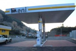 Eni metano (CNG) station