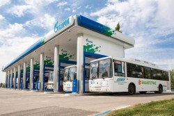 Gazprom CNG station at Ufa - Jul2015