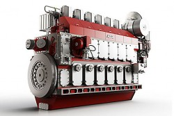 Caterpillar M 46 DF marine engine 2015