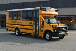 Collins CNG school bus for Merion County-PA