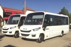 Romania's first CNG Buses