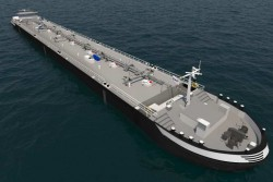 Shell's European Chartered Barge LNG powered - design