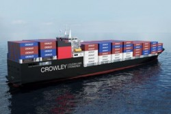 Crowley ConRo LNG dual-fuel