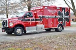 Bossier City Fire Dept - 2016 Ford F-650 CNG ambulance