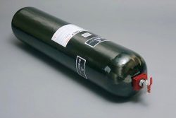 Luxfer CNG Type 4 2nd-gen composite cylinder