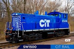 SW1500 locomotive