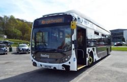 Record-beater Reading biomethane bus (2015)