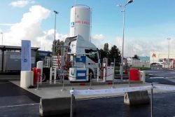Air Liquide LCNG Station in Duttlenheim