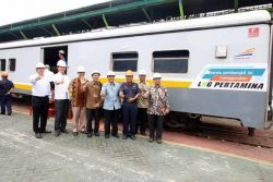 Pertamina and KAI trial LNG