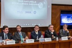 CNG MoU Signing in Italy - FCA, Iveco and Snam