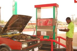 CNG refueling in Nigeria